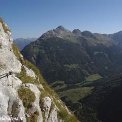 """creta di collinetta – via ferrata """"steinbergerweg"""""""