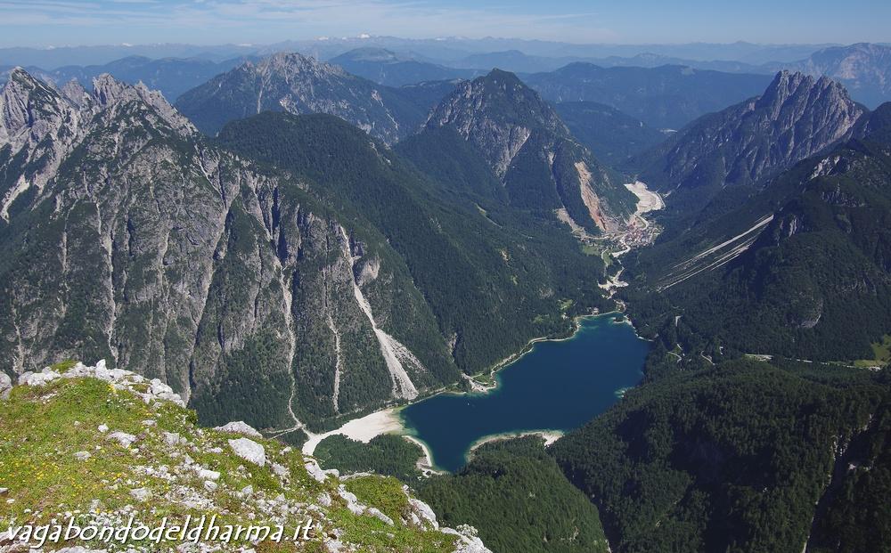 cima del lago